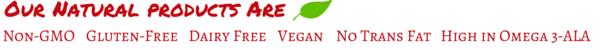 Vegan Non Gmo Diary Free No Trans Fats